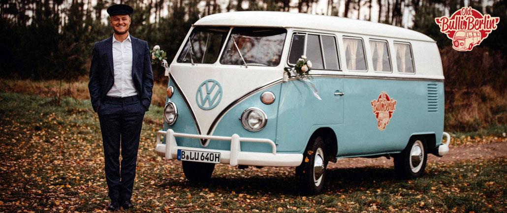 Hochzeitsauto VW Bulli T1 und T2 in Berlin