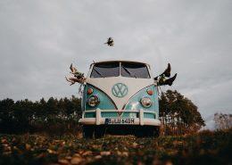 Mr. Wilhelm als Hochzeitsauto | © David Kohlruss