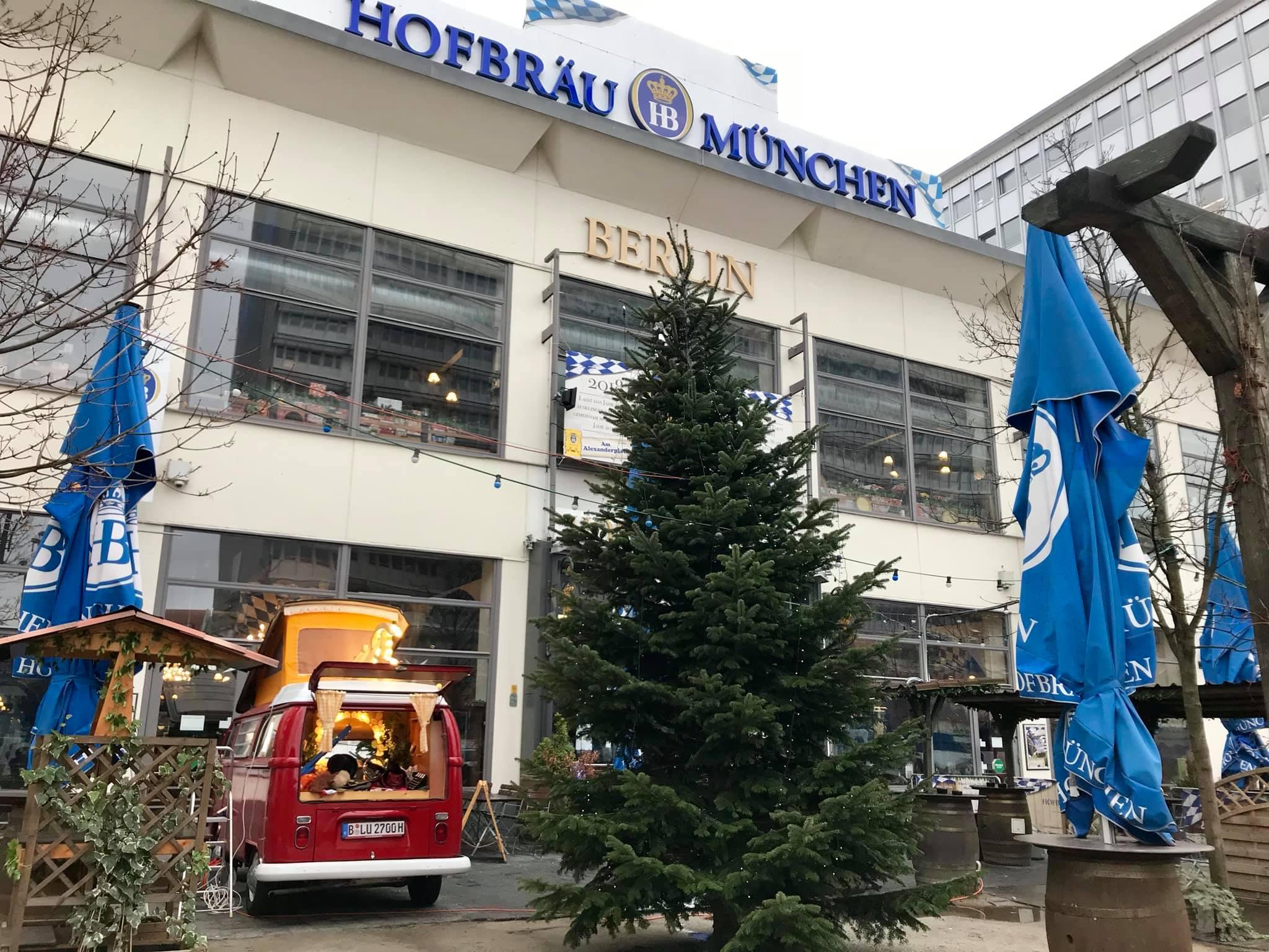 Frohe Weihnachten Berlin.Frohe Weihnachten Old Bulli Berlin