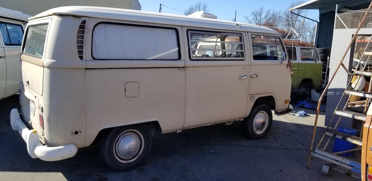 Old Bulli Berlin - Bulli-Handel - Bulli-Verkauf - VW T2a Westfalia Tintop