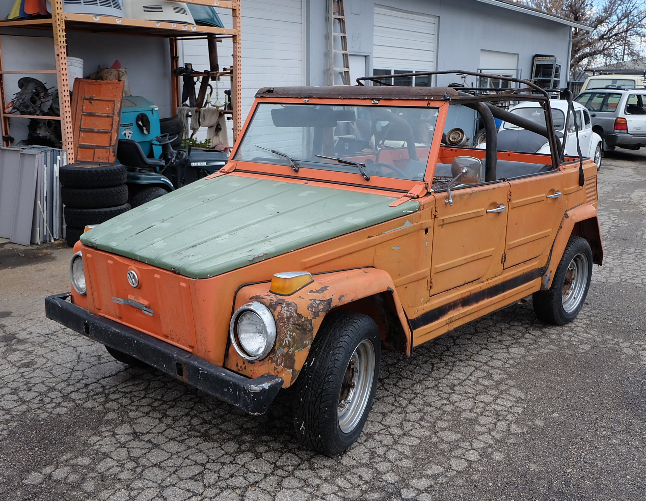 VW Typ 181 - The Thing