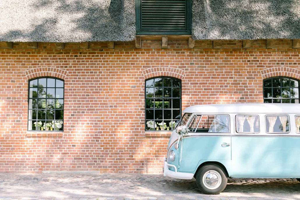VW Bulli T1 Hochzeitsauto Brautauto mieten Berlin