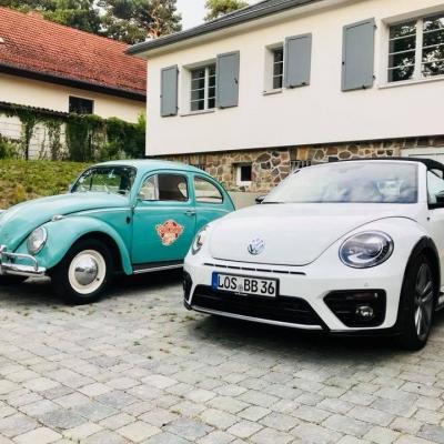 Käfer mieten in Berlin - Käfer als Hochzeitsauto - Old Bulli Berlin