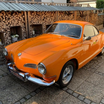 Old Bulli Berlin - Karmann Ghia