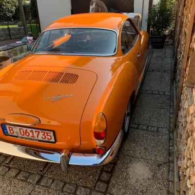 Old Bulli Berlin - Karmann Ghia
