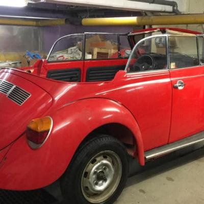 Old Bulli Berlin - Käfer Cabrio mieten