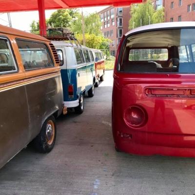 Old Bulli Berlin - VW T2a - Projekt 2020 - Vermietung