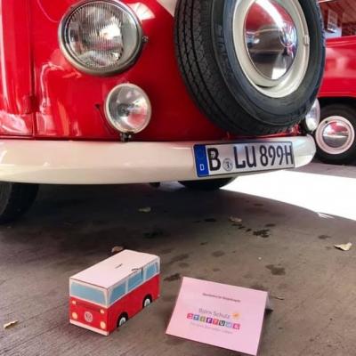 Old Bulli Berlin - Spenden sammeln - Kinderhospiz - Fotobulli