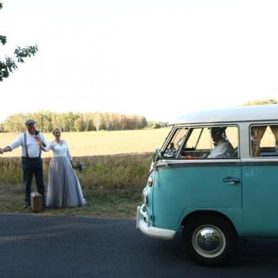 Old Bulli Berlin - Hochzeitsauto - T1 - VW Bulli - Leipzig