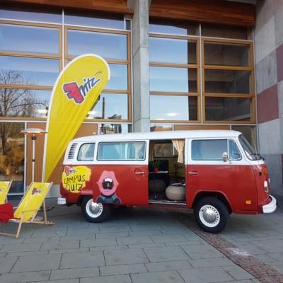 Old Bulli Berlin - Radio FRITZ 102.6 - Campus Quiz