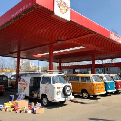Old Bulli Berlin - Arche - Tafeln - Ostereinkauf - Spenden - Hilfe