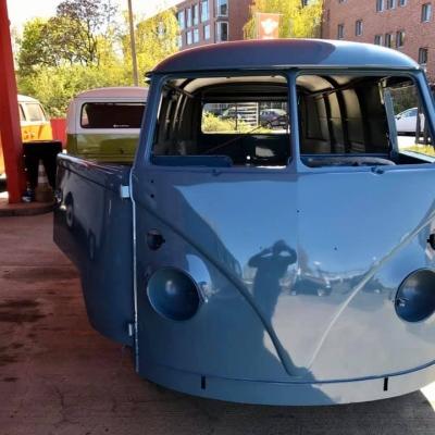 Old Bulli Berlin - Bulli-Verkauf - Bulli Handel - VW T1 Panel - Taubenblau