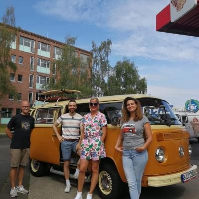 Old Bulli Berlin - Ferien in der Heimat - RBB