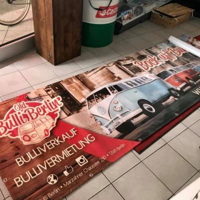 Old Bulli Berlin - Werbung - Berlin - Werbefläche - Banner
