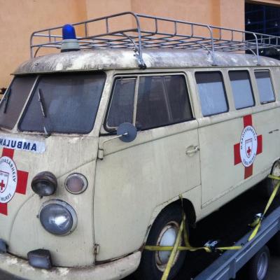 Old Bulli Berlin - Bulli-Handel - Bulli-Verkauf - VW T1 Bergkrankenwagen
