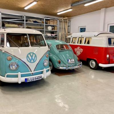 Old Bulli Berlin - VW T1 - VW Käfer - Fotobulli - Hochzeitsauto