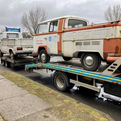 Old Bulli Berlin - Bulli-Handel - Bulli-Verkauf - VW T2a Doppelkabine - Doka
