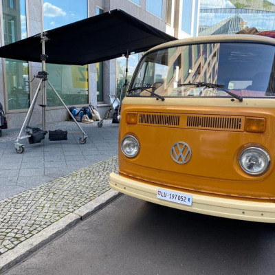 Old Bulli Berlin - Dreharbeiten - TV-Werbespot